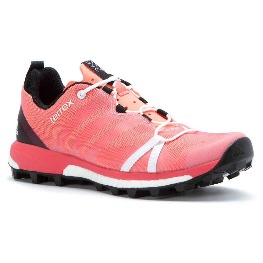 adidas outdoor Womens Terrex Agravic Shoe B0116CMIPA 7.5 B(M) US|Sun Glow, White, Super Blush
