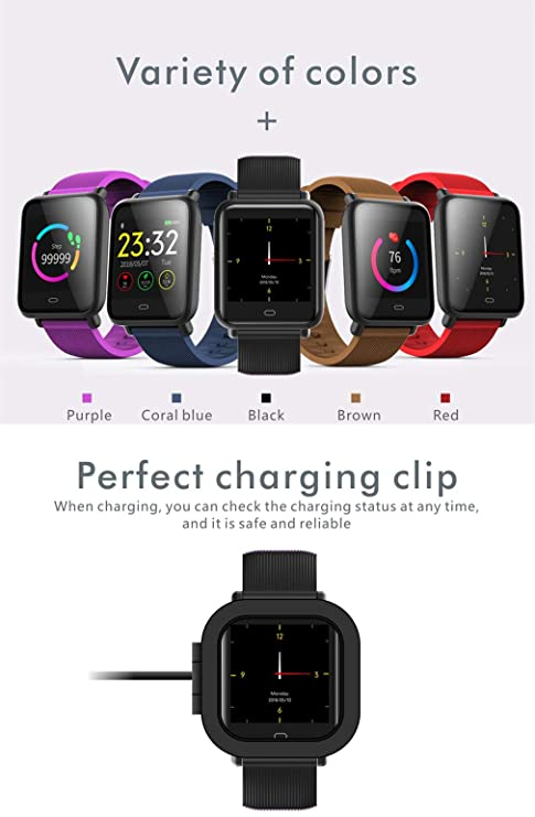 CCYOO Q9 Sports Smart Watch Impermeable De Pantalla Colorida ...