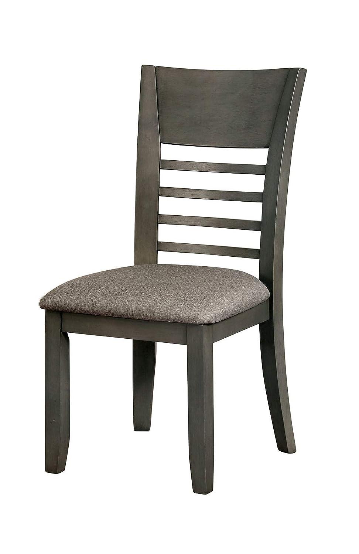 Amazon.com: Benzara BM188397 - Juego de 2 sillas de madera ...