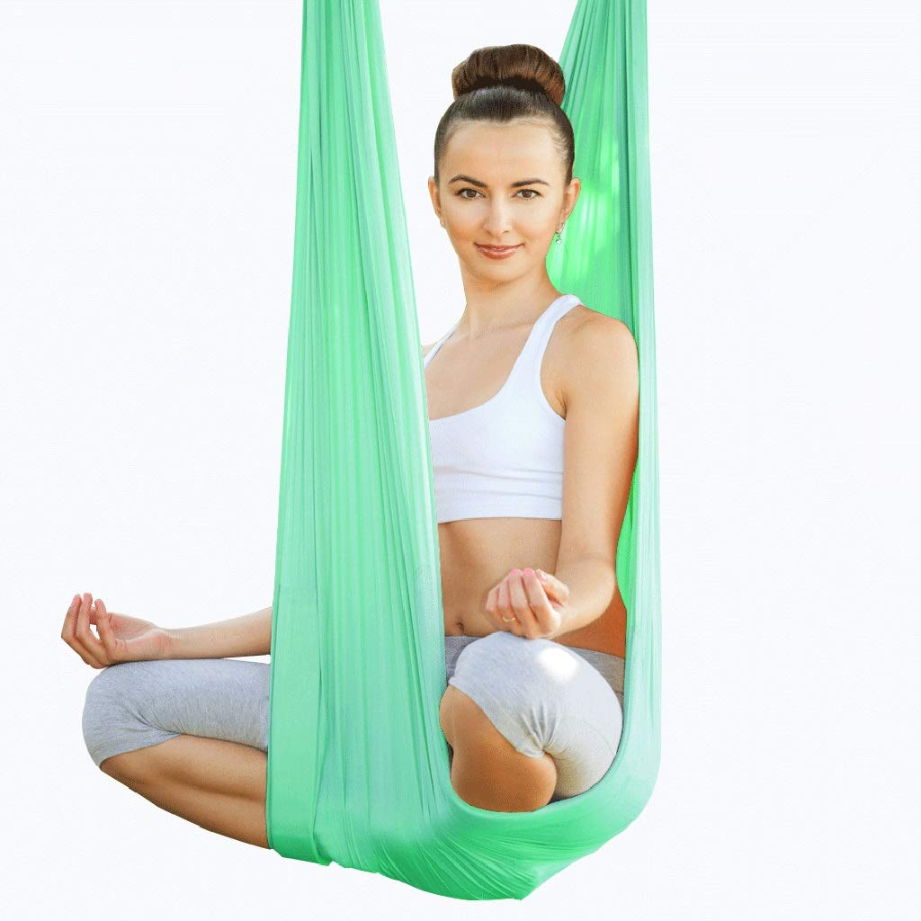 Xuetaimeigu Yoga Hamaca Yoga Aéreo Hamaca Casa Yoga Micro ...