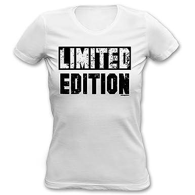 913181dcdae7dc Cooles Damen T-Shirt - lustige Sprüche / Motive : Limited Edition --  Goodman Design® -- Damen Fun T-Shirt: Amazon.de: Bekleidung