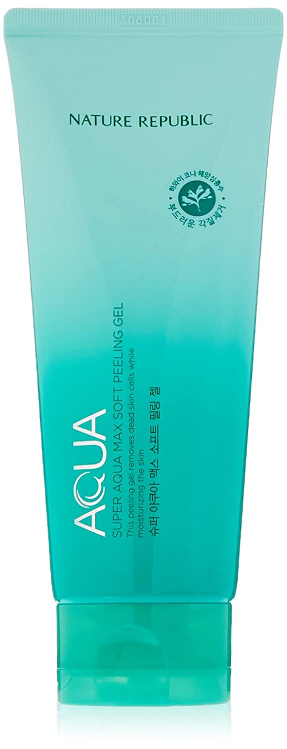 Nature Republic Super Aqua Max Soft Peeling Gel, 155 Gram