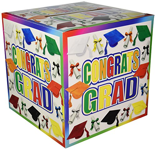 Graduation Card Box Party Accessory (1 count) (1/Pkg) -