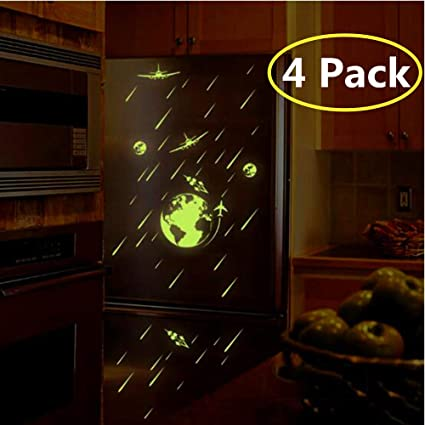 Glow In The Dark Stars Sticker Luminou Stickers Decal Ceiling Stickers Wall Mural Wallpaper Art Decor Star Wars Wall Decals Stickers For Kids Baby