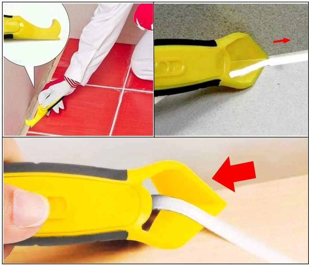 8 piezas de silicona calafateo kit de herramientas multifuncional 8 en 1 profesional silicona herramienta raspador conjunto para cocina ba/ño piso