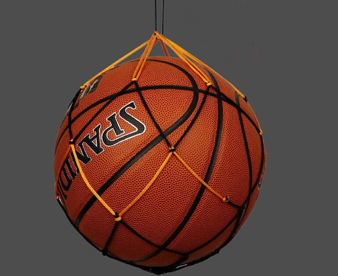 Gaddrt Basketball-Netz Nylon-Netztasche Ball tragen Mesh Volleyball Basketball Fu/ßball Fu/ßballnetz