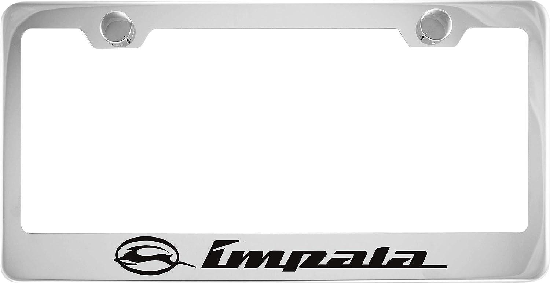 Chevrolet Impala Chrome Stainless Steel License Plate