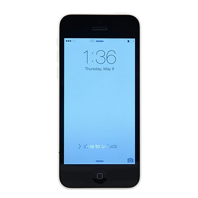 Apple iPhone 5c Smartphone - White (8GB) (Refurbished): Amazon.es: Electrónica