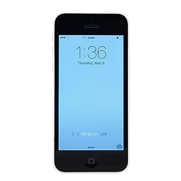 ddcadb073e7 Apple iPhone 5C Smartphone - White (16GB) (Refurbished): Amazon.es:  Electrónica