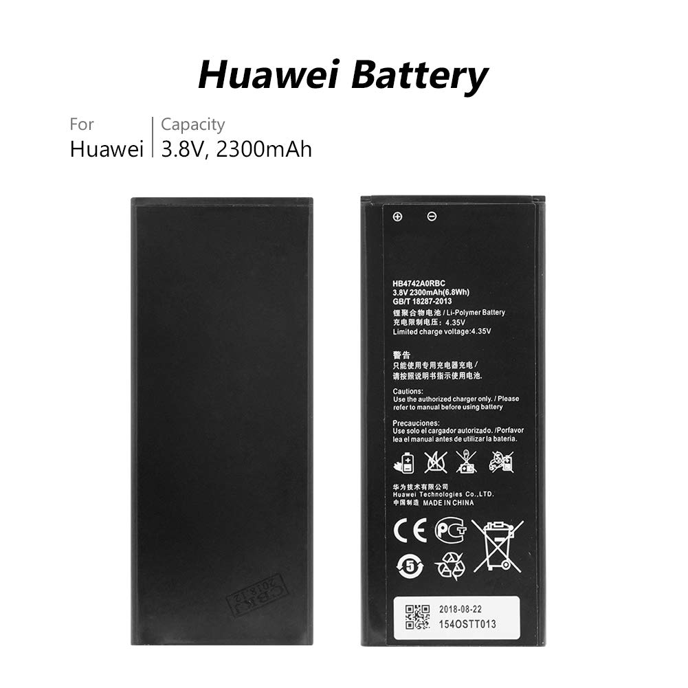 Amazon.com: 2PCS Replacement Battery,HB4742A0RBC Battery for ...