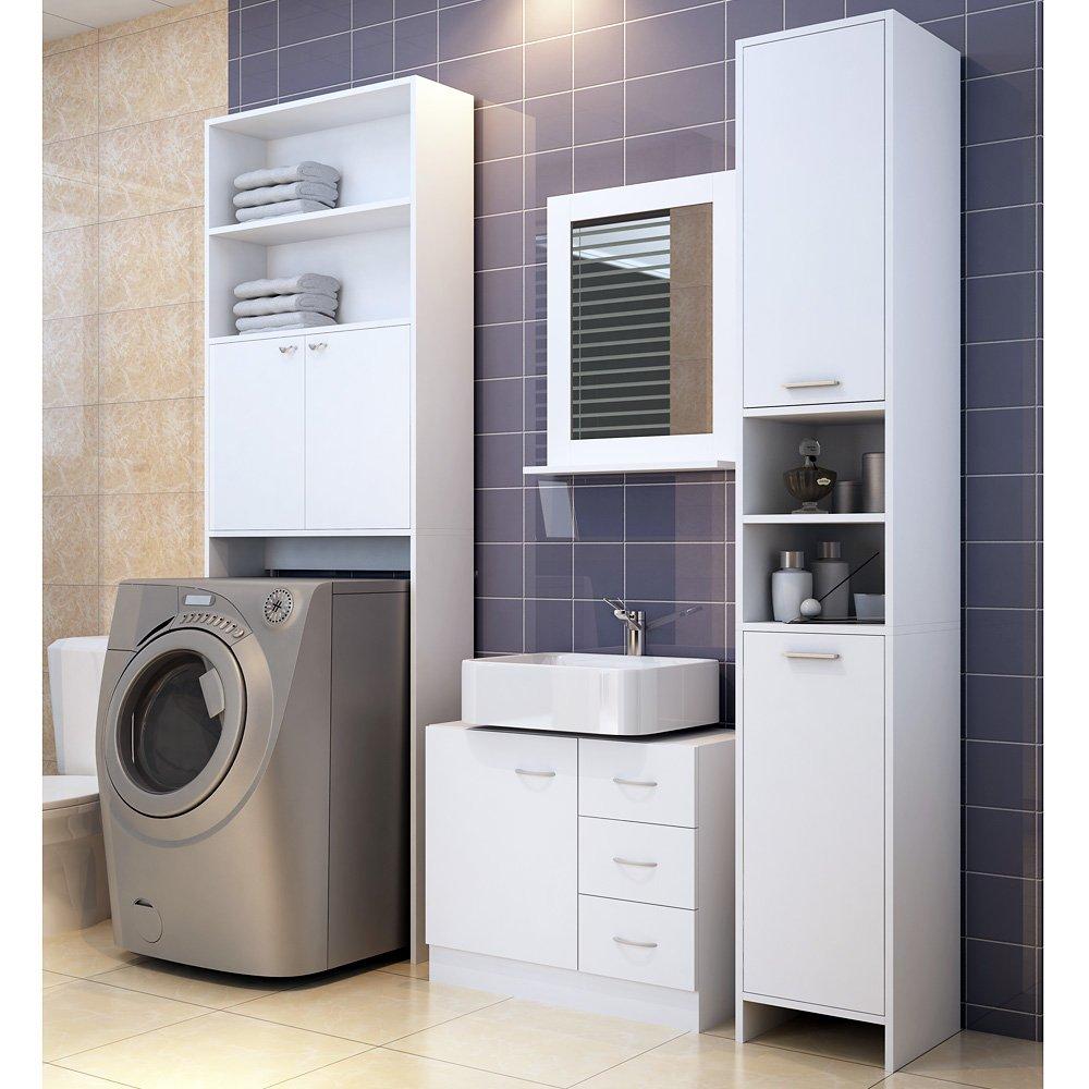 Badezimmerschrank für Waschmaschine Waschmaschinenschrank ...