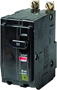 Square D by Schneider Electric QOB250CP Circuit Breaker, Black