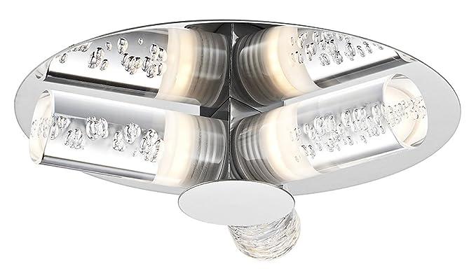 the latest b7bb8 45edd Contemporary LED Bathroom Light with Bubble Effect Acrylic ...
