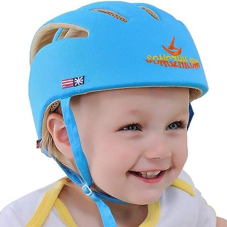 IULONEE Casco de protección para bebé, gorra protectora para ...