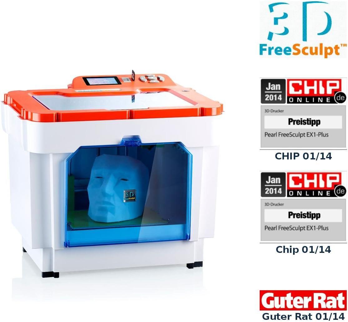 FreeSculpt Impresora 3d de EX1 Plus – Incluye 3d de edición de ...