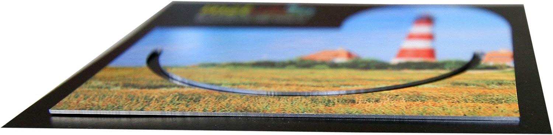 Blumenwiese #9910017 Lesezeichen aus Metall mit gerader Kontur