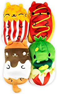Cats vs Pickles - Foodie Collection #2 - Frankie, Buttery, S'Mores, & Carl - 4-Pack - 4