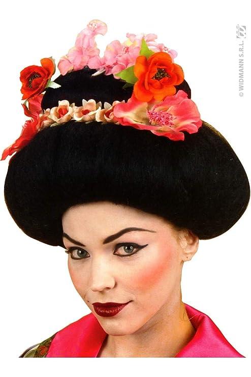 Partido peluca peluca de geisha G6369: Amazon.es: Juguetes y juegos