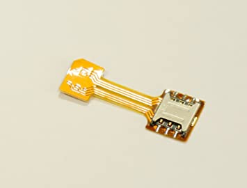 how to use micro sim adapter