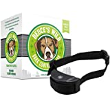 Deuce's Wild Dog Bark Control Collar - Humane Anti Bark Trainer - Sensitivity Adjustable - For SMALL DOGS, MEDIUM DOGS & LARGE DOGS - EXTRA! Includes 3 Batteries