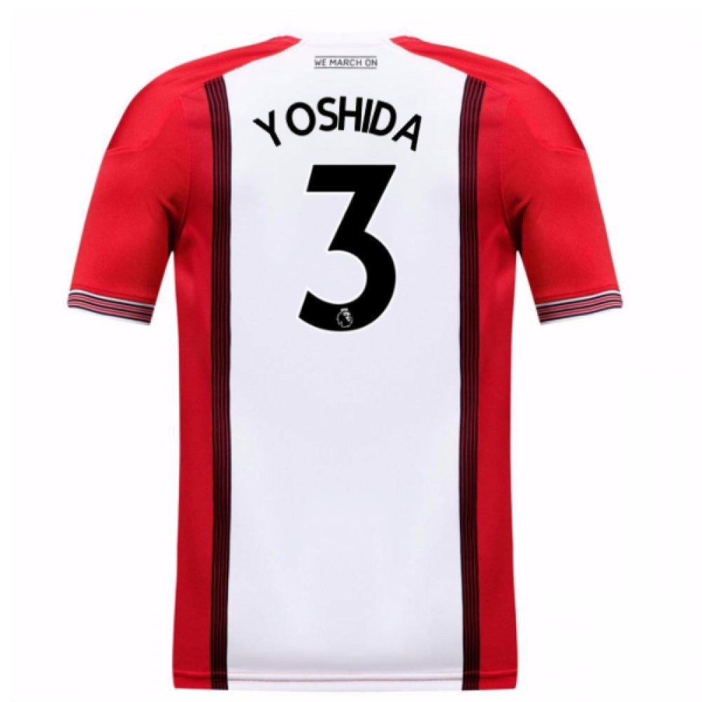 2017-18 Southampton Home Football Soccer T-Shirt Trikot (Maya Yoshida 3) - Kids