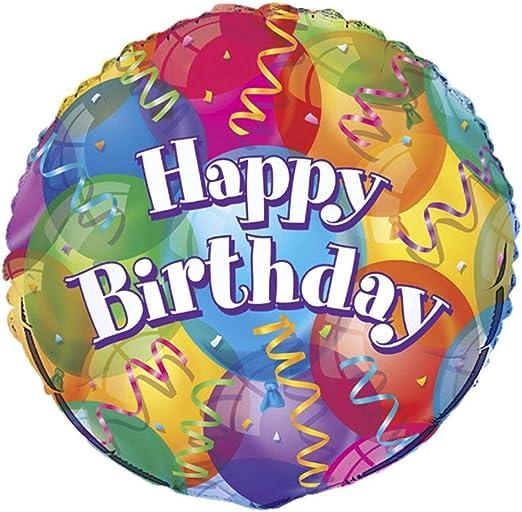 Amazon.com: Cumpleaños perfecto., globo de aluminio ...