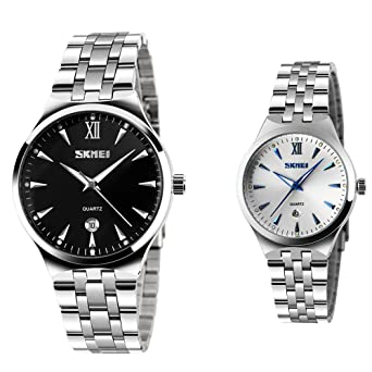 Herren Couple Armbanduhr Frauen Klassischen Fashion Business