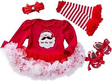 Conjunto de disfraz de princesa de Papá Noel para recién nacido ...