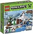 Lego Minecraft - 21120 - Jeu de Construction - La Cachette dans la Neige