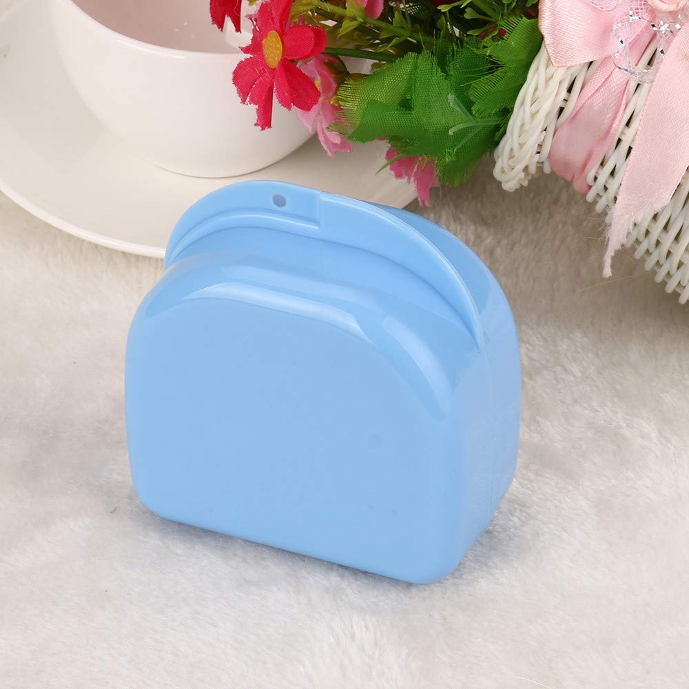 Hohaski Denture Bath Appliance False Teeth Box Storage Case Rinsing Basket Professional Dental Supplies Color Random(White, Blue & Green ) by Hohaski (Image #8)