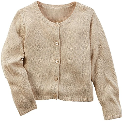 Carter's Girls' Sweater 273g483, Heather, 4 Image