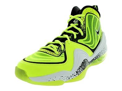 Nike Air Penny V HL Volt Yellow Mens Shoes