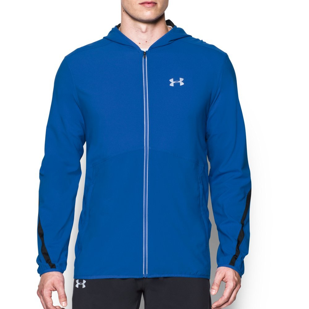 Under Armour Men's Run True Jacket, Blue Marker (789)/Reflective, Small