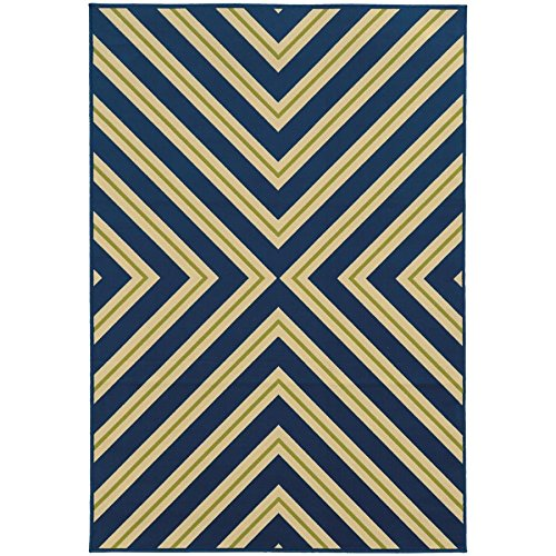 - Oriental Weavers 4589L Riviera Collection Area Rug, 2'5 x 4'5