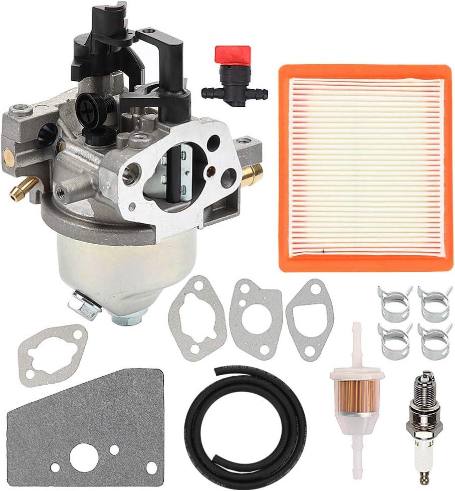 Hayskill 14 853 36-S 14 853 49-S Carburetor w Air Filter Gaskets Fuel Line for Kohler XT650 XT675 XT6.5 XT6.75 XT6 XT7 Engine Toro Lawn Mower Carb Replace 14 853 21-S