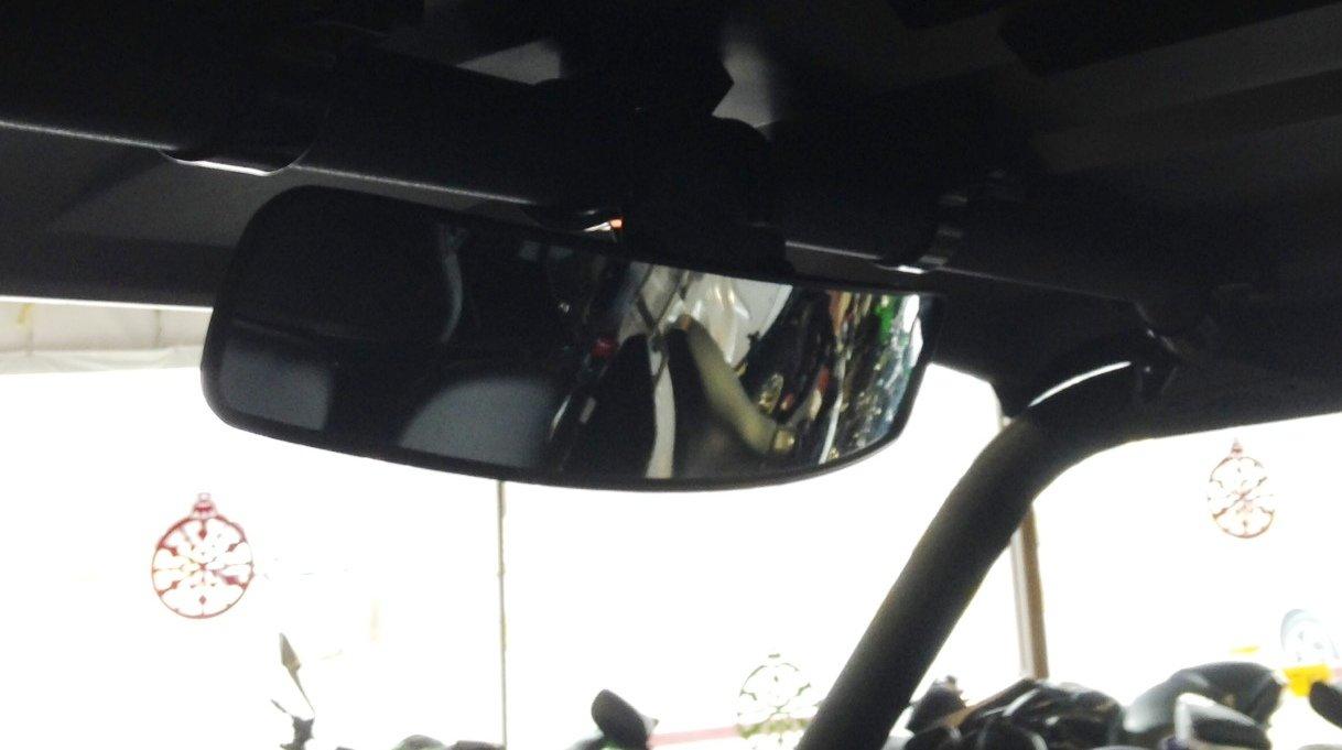 16.5 Extra Wide Panoramic Rear View Mirror Fits Yamaha Viking UTVs Big Buddy Team