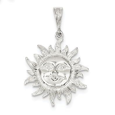 Amazon sterling silver sun pendant sports fan pendants jewelry sterling silver sun pendant aloadofball Gallery