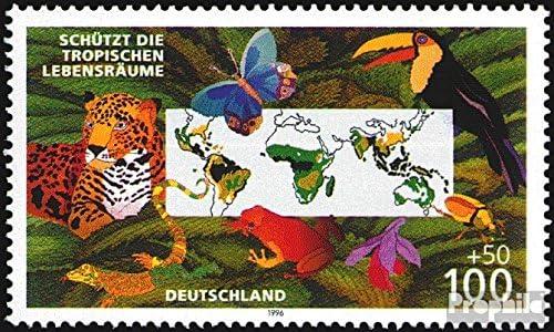 kompl.Ausgabe Prophila Collection BRD Briefmarken f/ür Sammler BR.Deutschland 1996 Tropische Lebensr/äume 1867 V/ögel