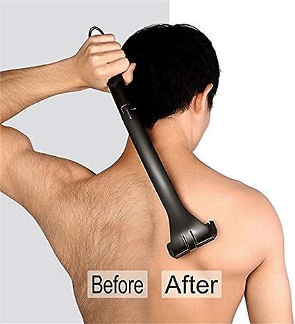 Volver depilación corporal cuerpo de la afeitadora impermeable for ...