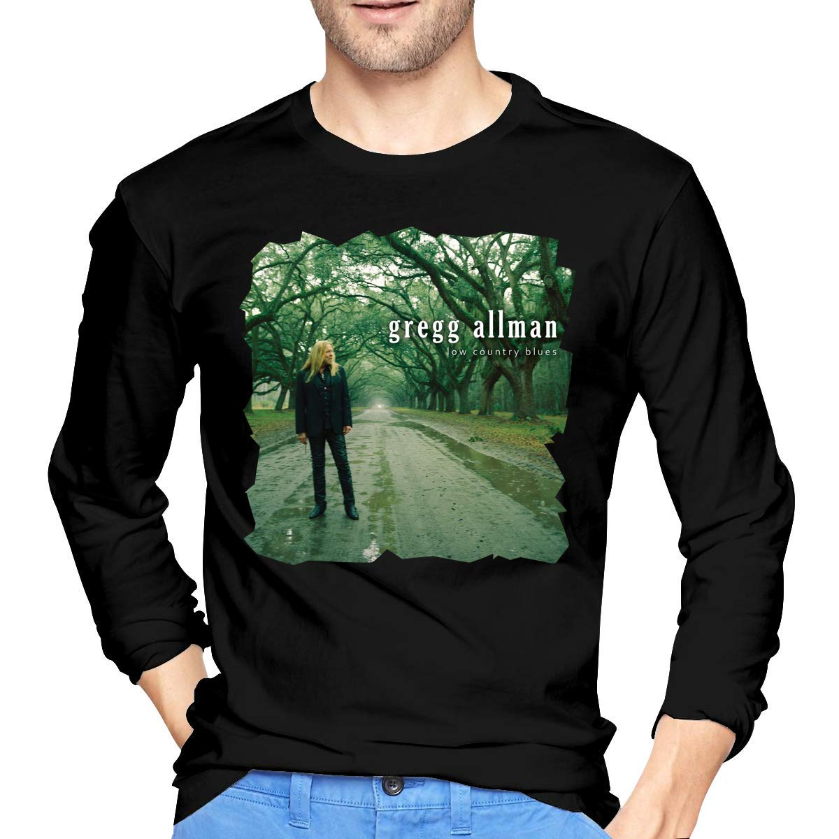 Fssatung S Gregg Allman Low Country Blues Tees Black Shirts