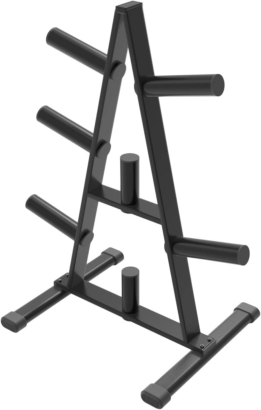 Cozy Castle Weight Plate Rack, A Frame Weight Plate Tree for 2 inch Plates for Home Gym, Olympic Weight Rack : Sports & Outdoors