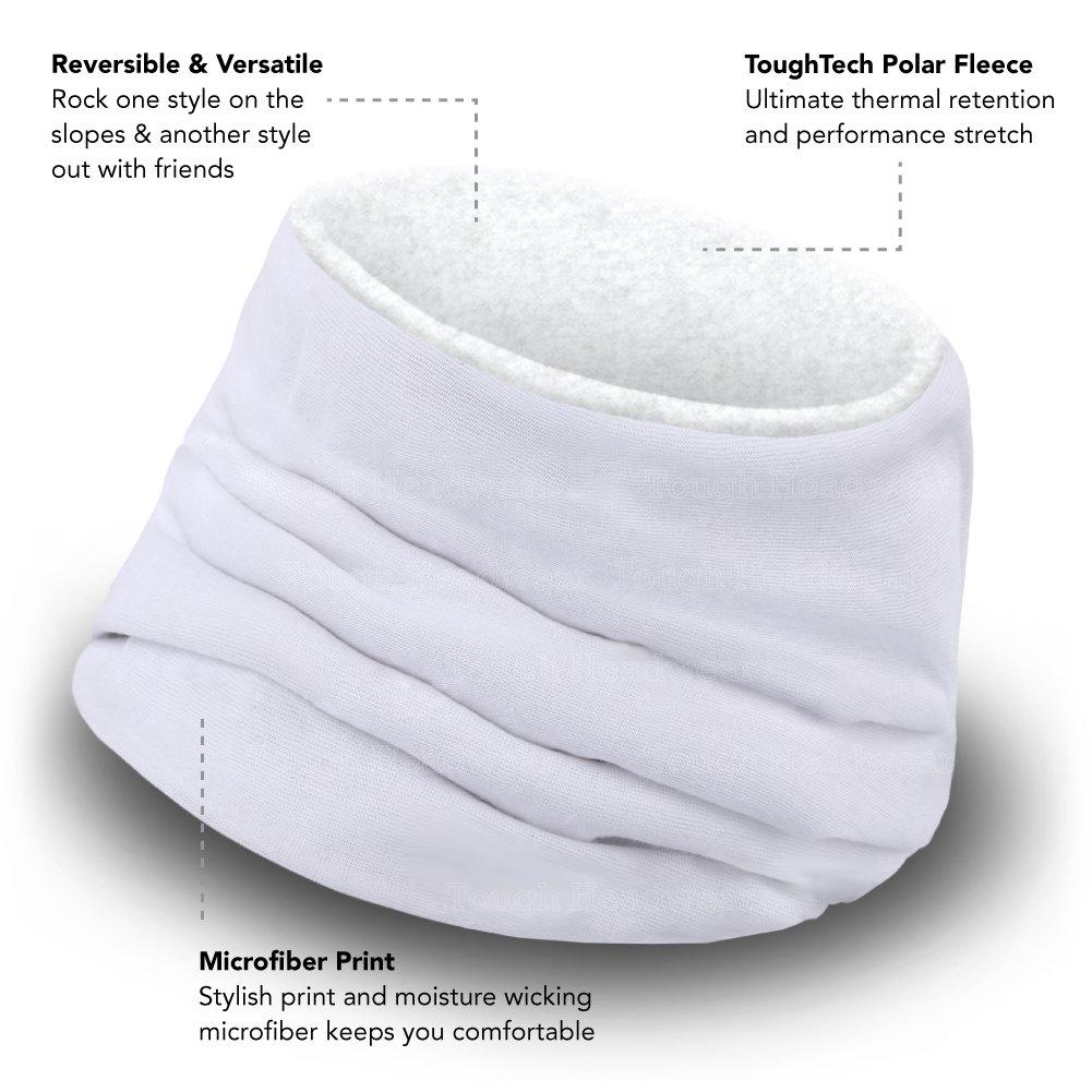 Tough Headwear Neck Warmer  Winter Fleece Neck Gaiter  Ski Tube Scarf for Men  Women  Cold Weather