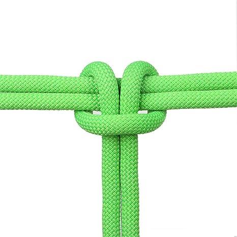 ZWYY Cuerda de Escalada de 9 mm, Cuerda estática de Rappel de ...
