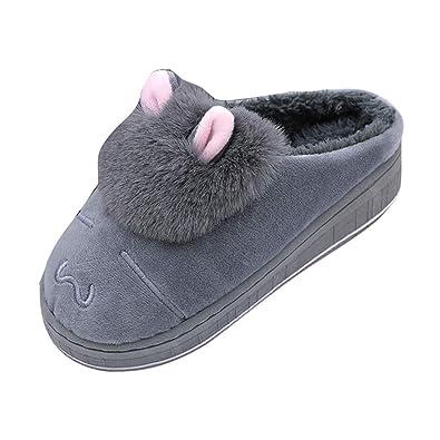 accogliente fresco prima clienti bellissimo a colori Pantofole Donna Invernali, MEIbax Pantofole Moda Ciabatte ...