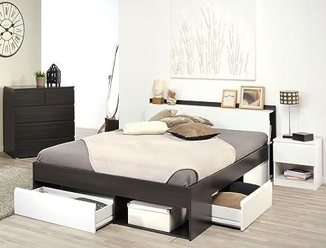 expendio Jugendzimmer Morris 37 Kaffee Bett 140x200 Kommode ...
