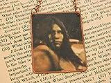 Native American necklace Lozen Native American Jewelry mixed media jewelry