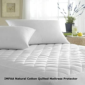 NEW EXTRA DEEP QUILTED MATRESS MATTRESS PROTECTOR FITTED BED COVER SET