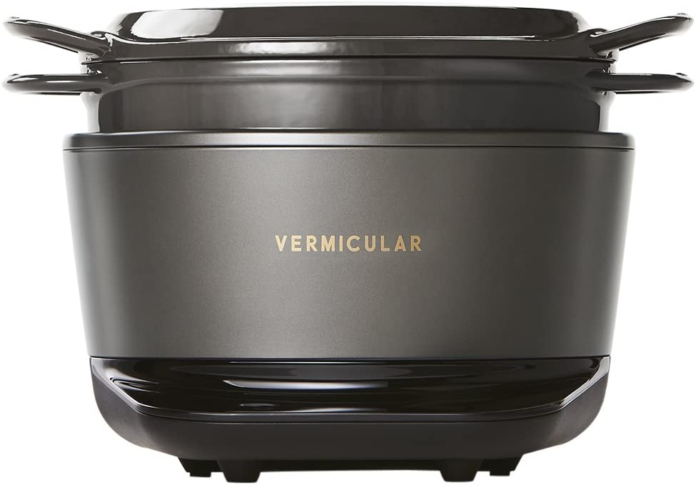 Vermicular Rice Pot RP23A-GY (Japan Domestic Genuine Products) AC:100