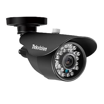 Tekvision® Cámara de la bala de la vigilancia de la seguridad de 1000TVL 960H (trabajo con AHD 720P 1080P DVR, cámara solamente ninguna energía ninguÌ n ...
