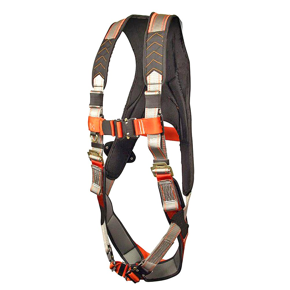 Madaco Roof Construction Fall Protection Heavy Duty Full Body Industrial Safety Harness Size M-XXL ANSI OSHA H-TB205AP-MAX